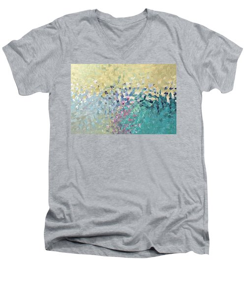 Turn Pain Into Purpose. Luke 8 39 Men's V-Neck T-Shirt