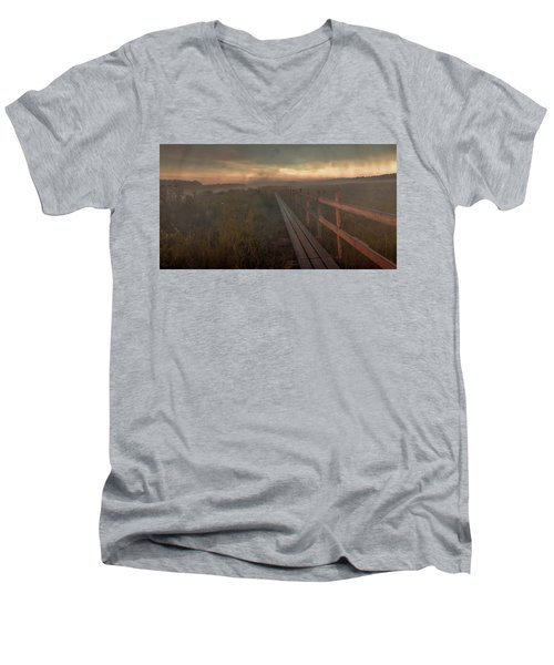 Turn To Infinity #g6 Men's V-Neck T-Shirt