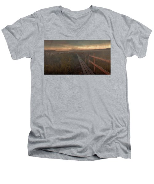 Turn To Infinity #g6 Men's V-Neck T-Shirt