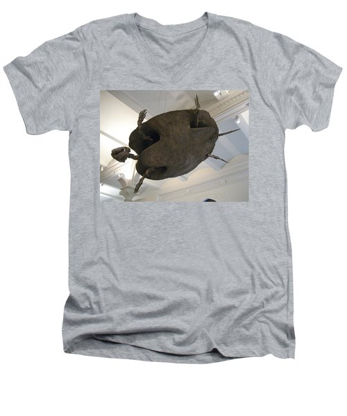 Turtle Men's V-Neck T-Shirt by Brian McDunn