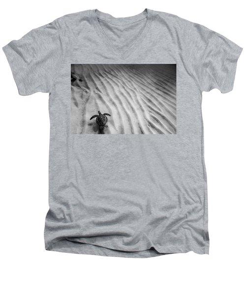Turtle Ridge Men's V-Neck T-Shirt