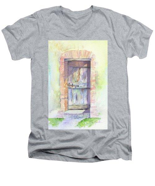 Tuscan Doorway Men's V-Neck T-Shirt