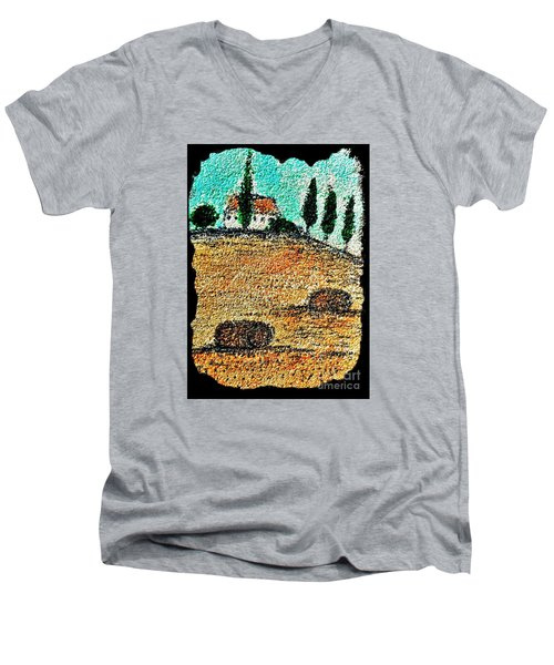 Tuscany  Men's V-Neck T-Shirt