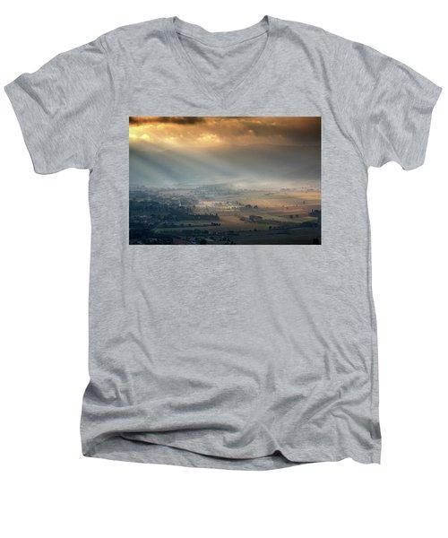 Tuscany Valley  Men's V-Neck T-Shirt