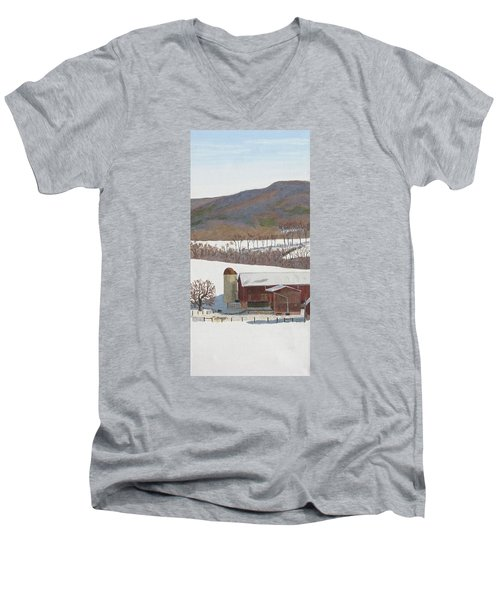 Tussey Mountain View Men's V-Neck T-Shirt