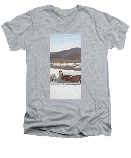 Tussey Mountain View Men's V-Neck T-Shirt