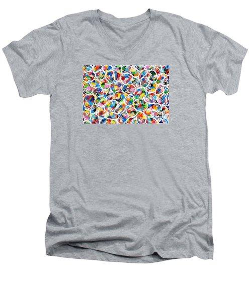 Tutti Frutti Men's V-Neck T-Shirt