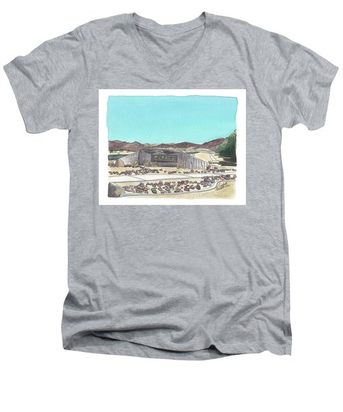Twentynine Palms Welcome Men's V-Neck T-Shirt