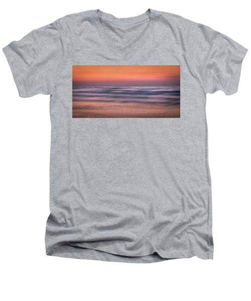 Twilight Abstract Men's V-Neck T-Shirt