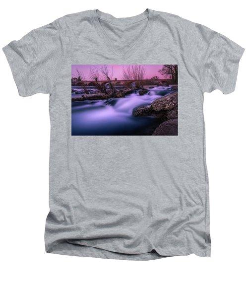 Twilight Falls Men's V-Neck T-Shirt
