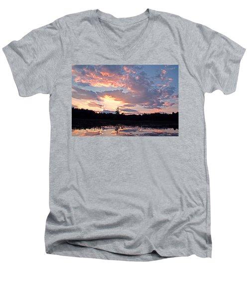 Twilight Glory Men's V-Neck T-Shirt