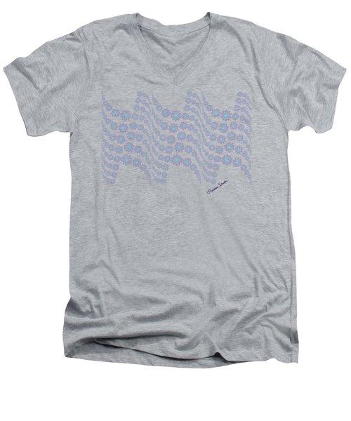 Twilight Ocean Men's V-Neck T-Shirt
