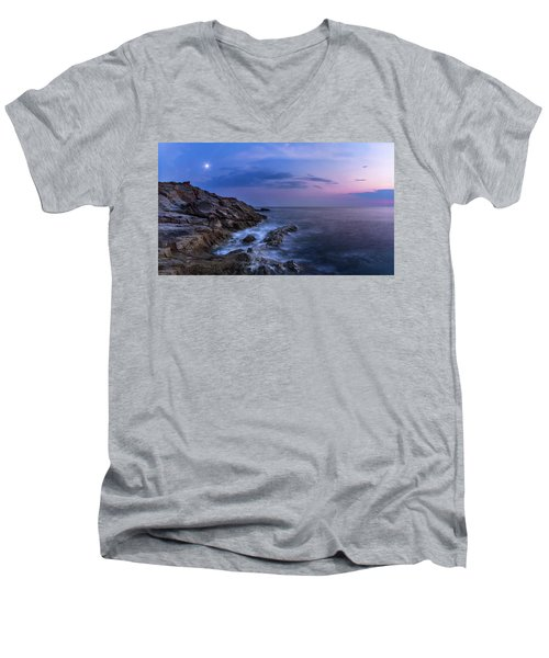 Twilight Sea Men's V-Neck T-Shirt