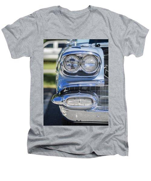 Twin Beam Men's V-Neck T-Shirt