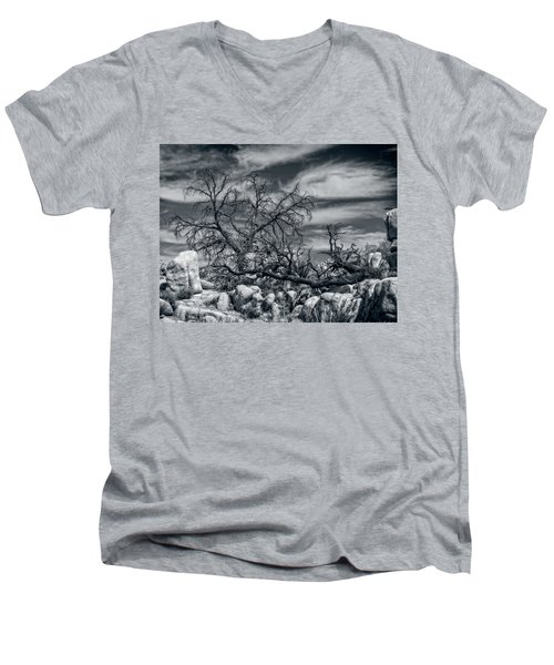 Twisted Branches Men's V-Neck T-Shirt