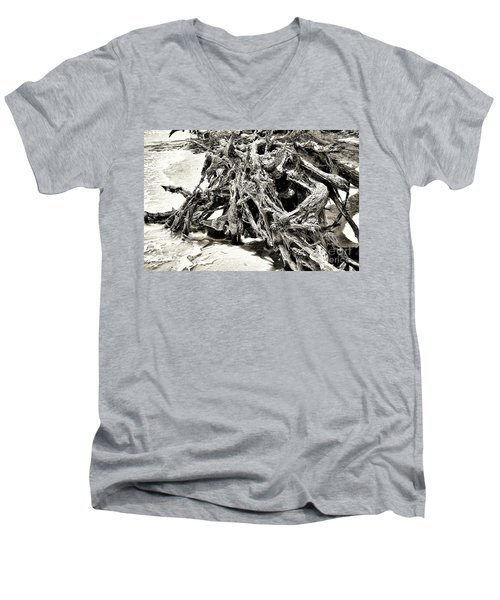 Twisted Driftwood Men's V-Neck T-Shirt