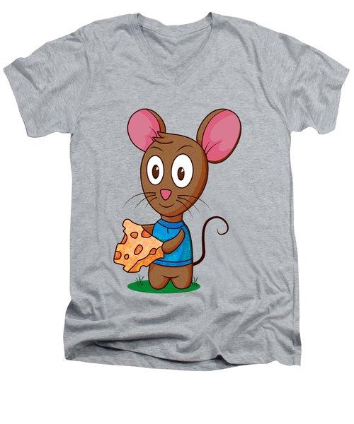 Twitch The Mouse Men's V-Neck T-Shirt