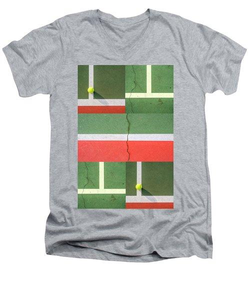Two Balls Men's V-Neck T-Shirt