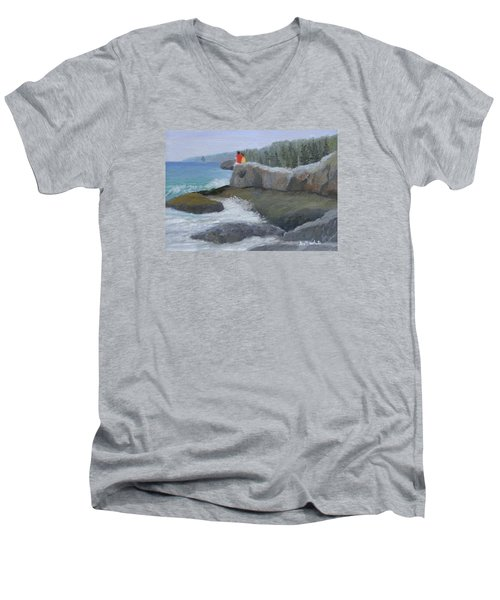 Two Brothers Men's V-Neck T-Shirt