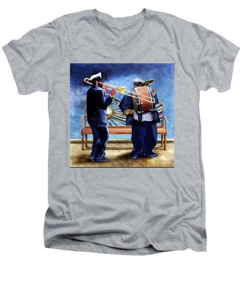 Two Da Jazz Way Men's V-Neck T-Shirt