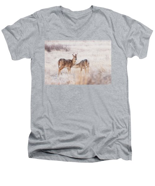 Two Deers Men's V-Neck T-Shirt