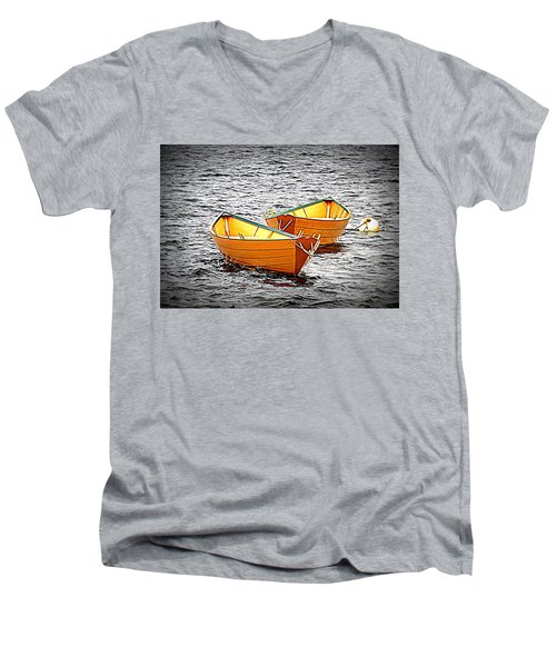 Two Dories Men's V-Neck T-Shirt