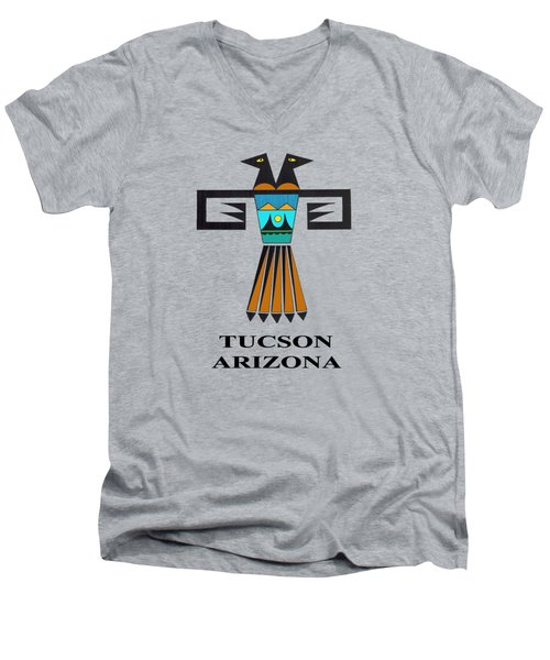 Two-headed Bird Tucson, Az Men's V-Neck T-Shirt