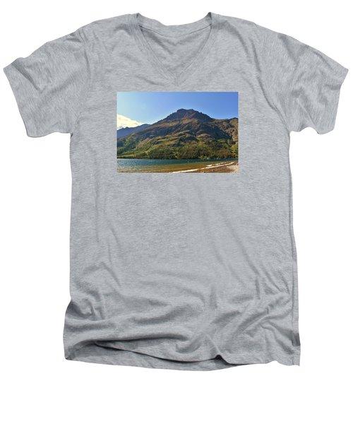 Two Medicine Lake Men's V-Neck T-Shirt