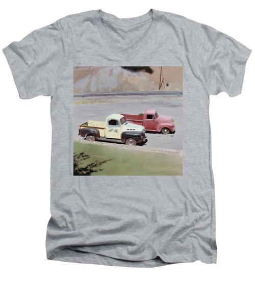 Two Pickups Men's V-Neck T-Shirt