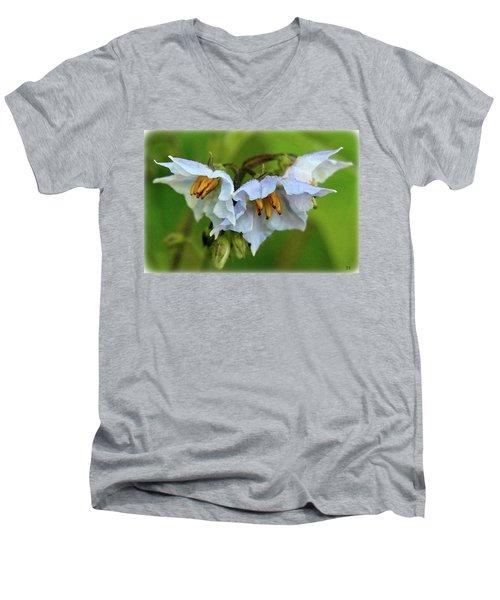 Two Rivers June 2017 Men's V-Neck T-Shirt
