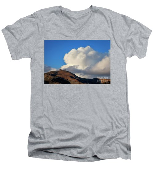 Two Trees At Ventura, California Men's V-Neck T-Shirt