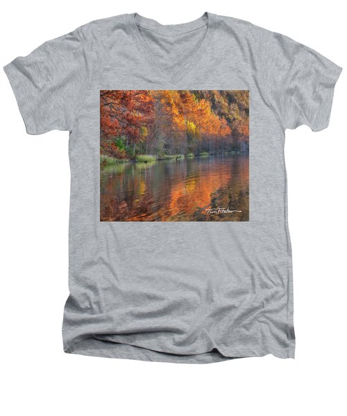 Tyler Lake Men's V-Neck T-Shirt