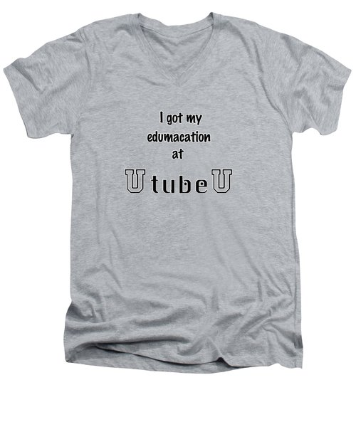 U Tube U Men's V-Neck T-Shirt