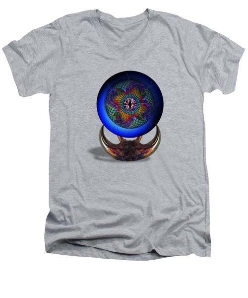 Uadjet's Eye Men's V-Neck T-Shirt