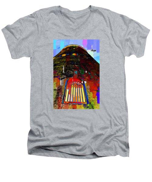 UFO Men's V-Neck T-Shirt