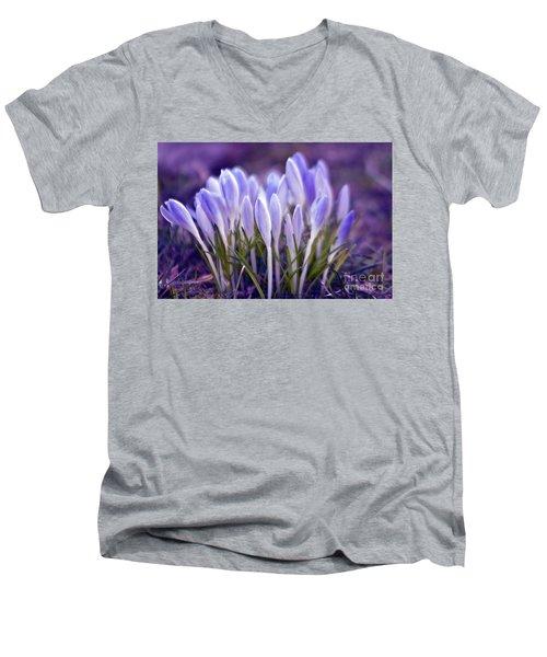 Ultra Violet Sound Men's V-Neck T-Shirt
