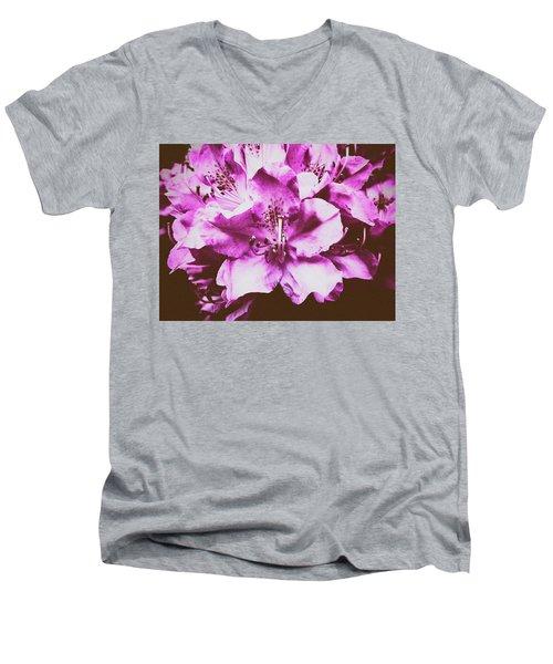 Ultraviolet Men's V-Neck T-Shirt