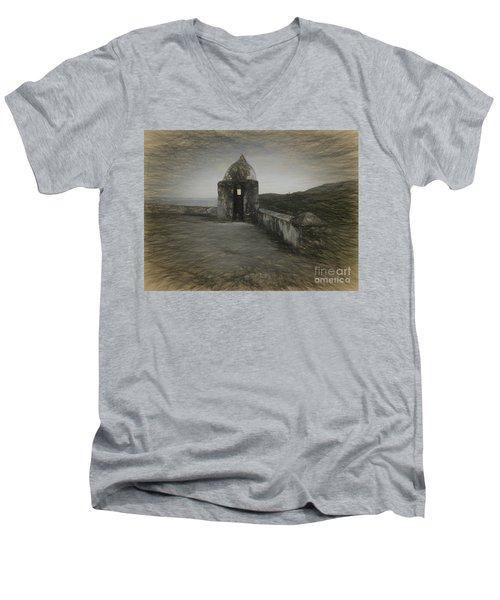 Umatac Guam- Spanish Lookout Men's V-Neck T-Shirt