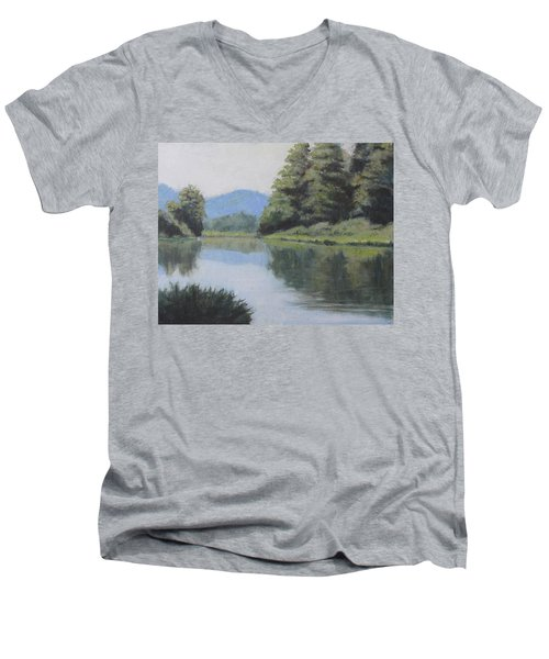 Umpqua River Men's V-Neck T-Shirt