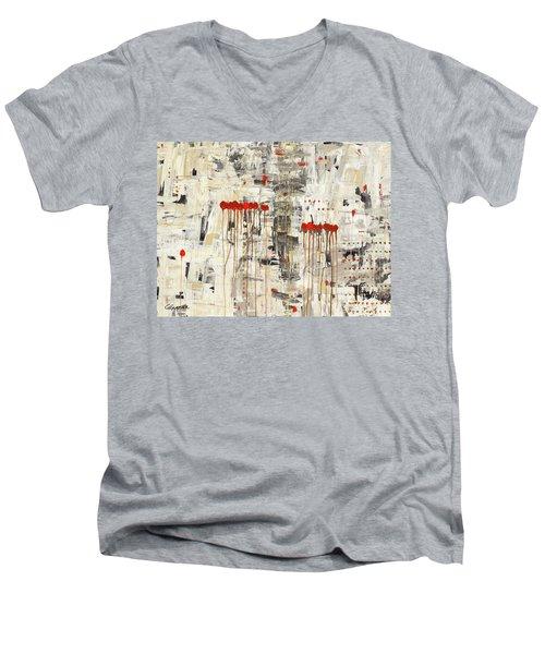 Un Pour Tous Men's V-Neck T-Shirt