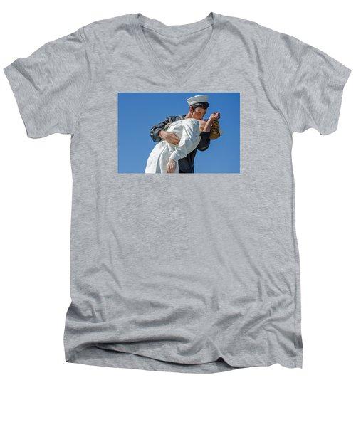 Unconditional Surrender 2 Men's V-Neck T-Shirt