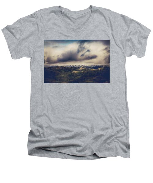 Men's V-Neck T-Shirt featuring the photograph Undeniable by Laurie Search
