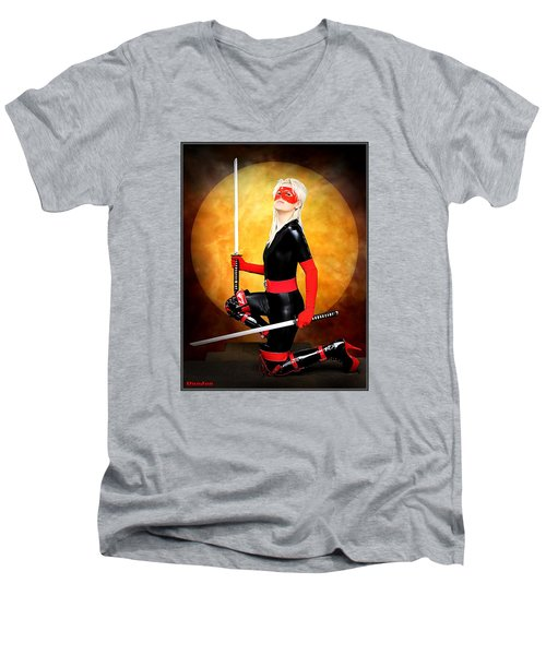 Under A Blood Moon Men's V-Neck T-Shirt
