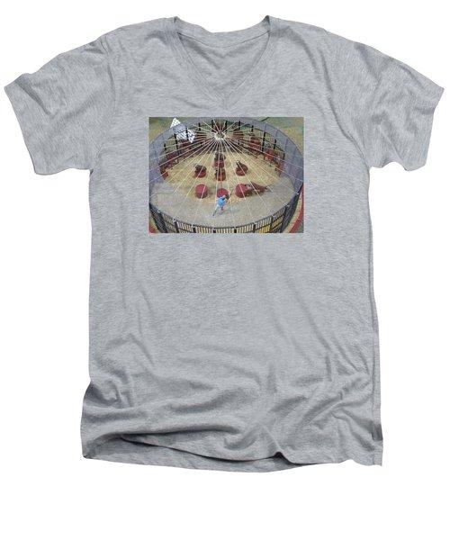 Under The Big Top Men's V-Neck T-Shirt
