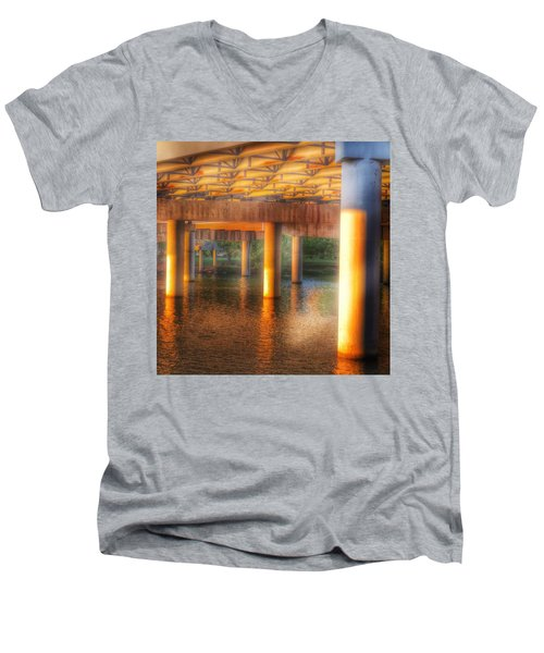 Under The Boardwalk Men's V-Neck T-Shirt