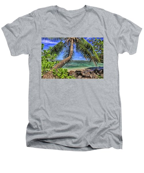 Under The Coconut Tree Men's V-Neck T-Shirt