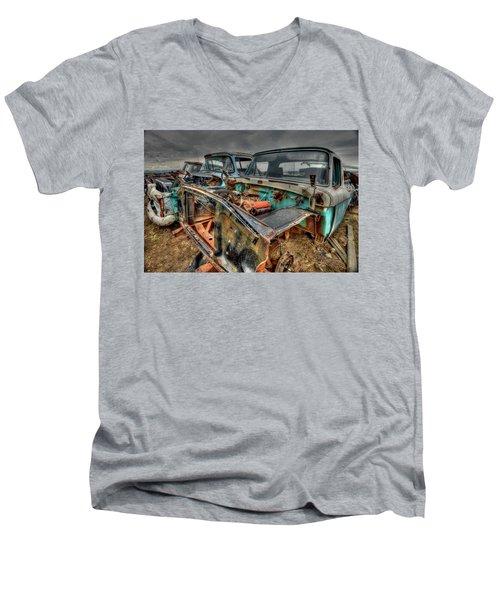 Under The Hood Men's V-Neck T-Shirt