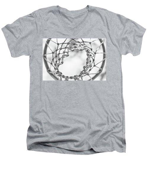 Under The Net Men's V-Neck T-Shirt