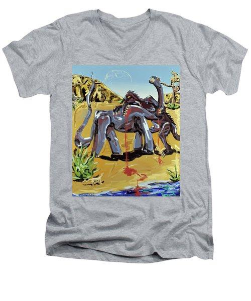 Under The Sun Men's V-Neck T-Shirt