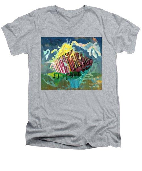 Undersea Still Life Men's V-Neck T-Shirt by Sarah Loft